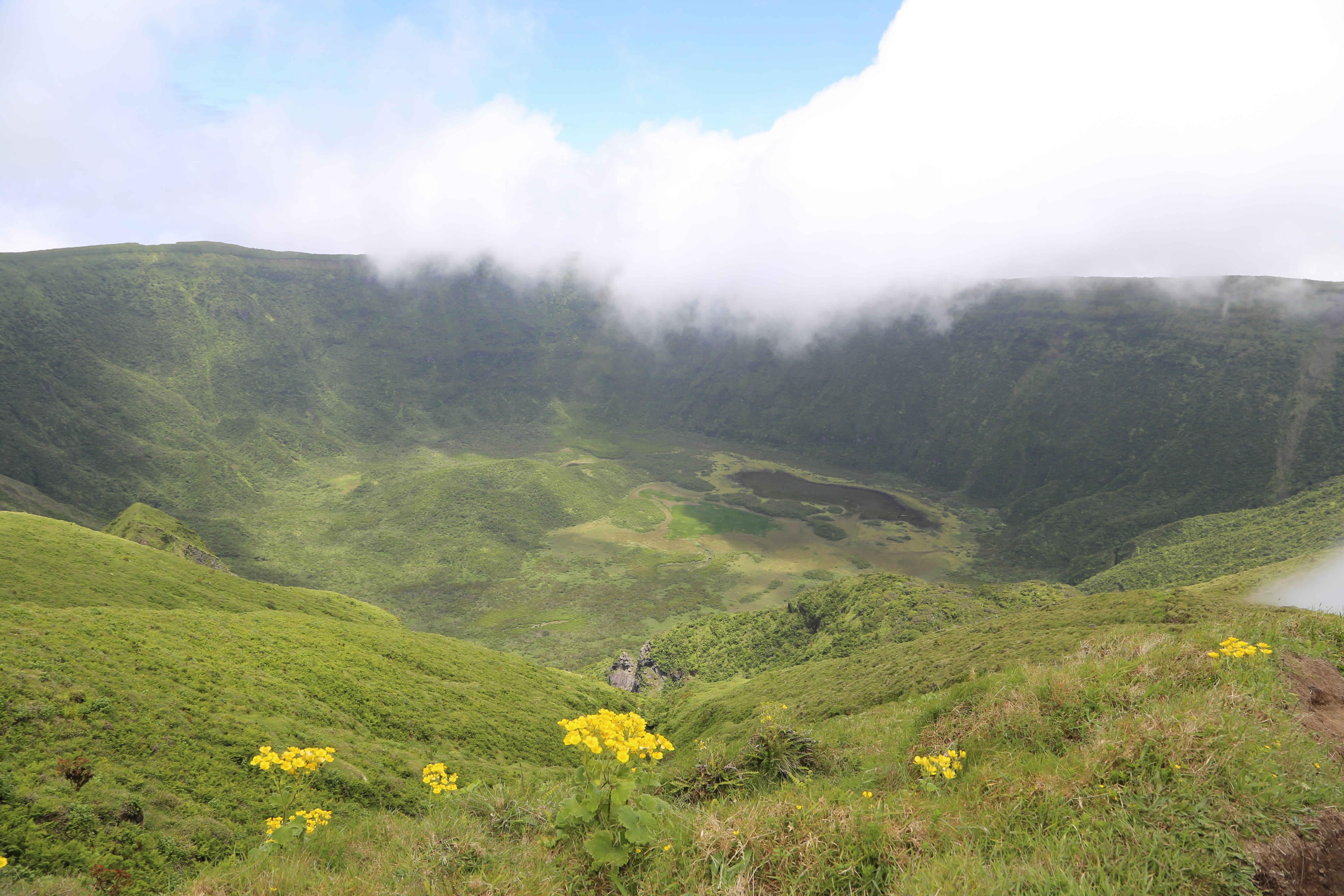 Faial Krater