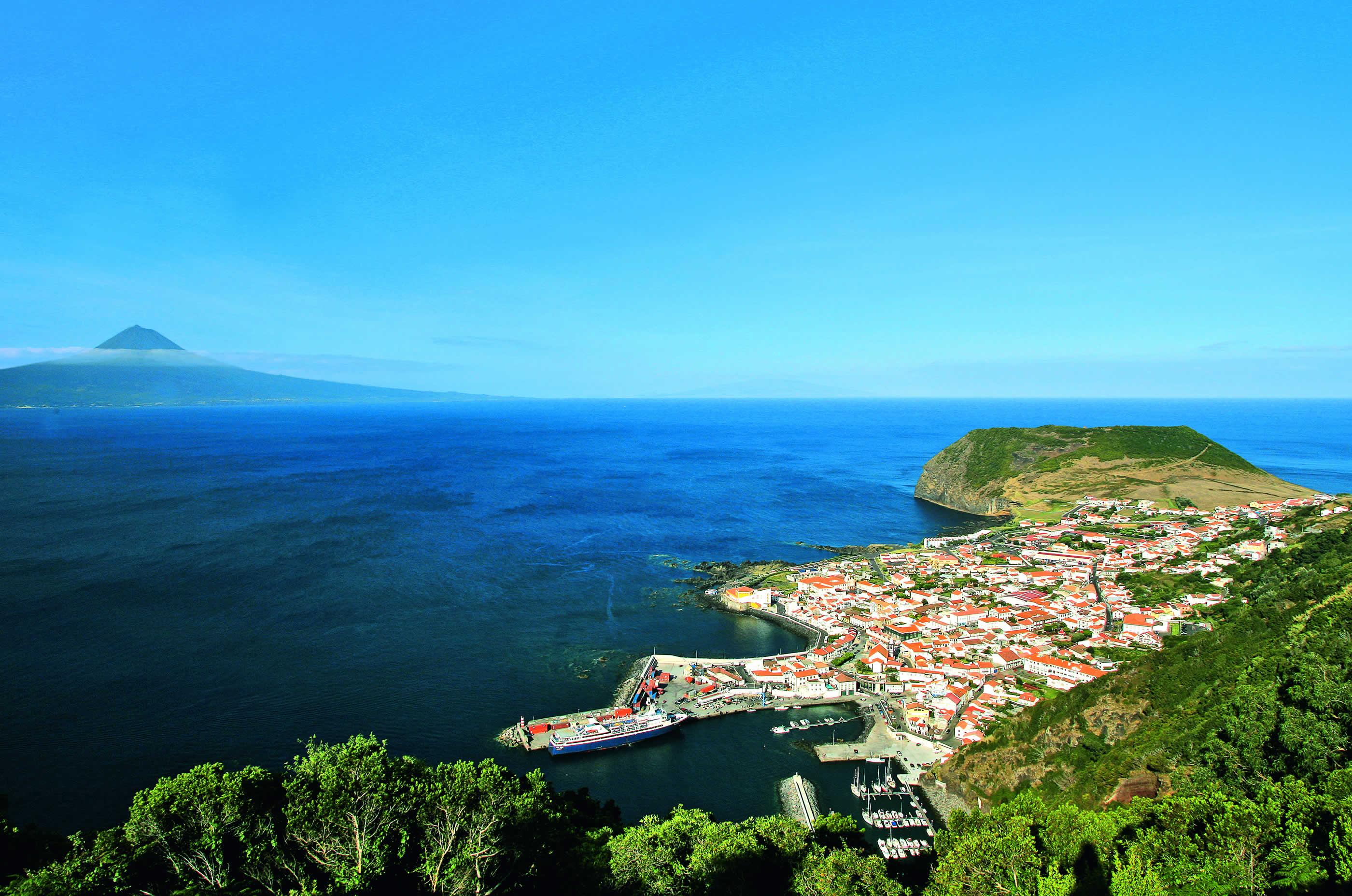 Azoren Sao Jorge Velas Panorama