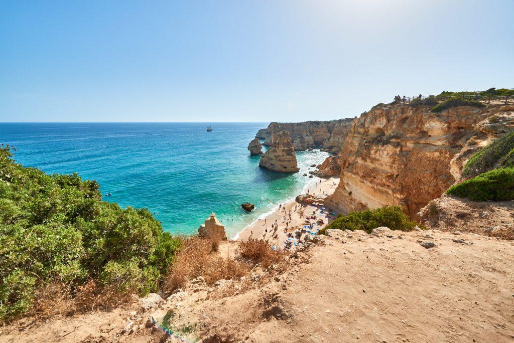 Panorama Felsenküste Portugal