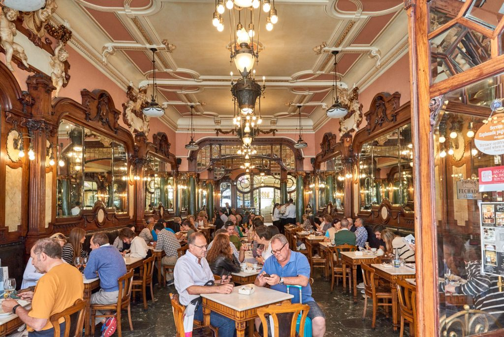 Café in Porto