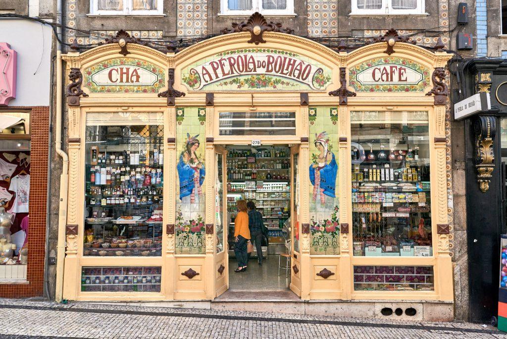 Alte Bäckerei Porto Sehenswürdigkeit