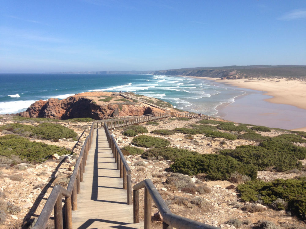 Ausblick Praia Bordeira