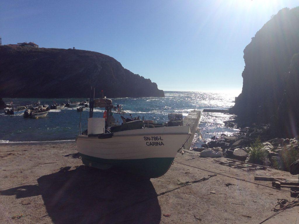 Fischerhafen Entrada da Barca Rota Vicentina
