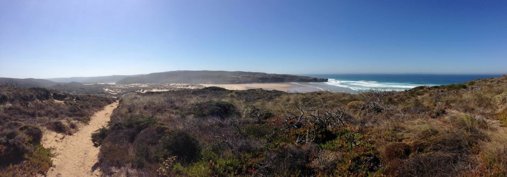 Panorama Bild Küste Portugal