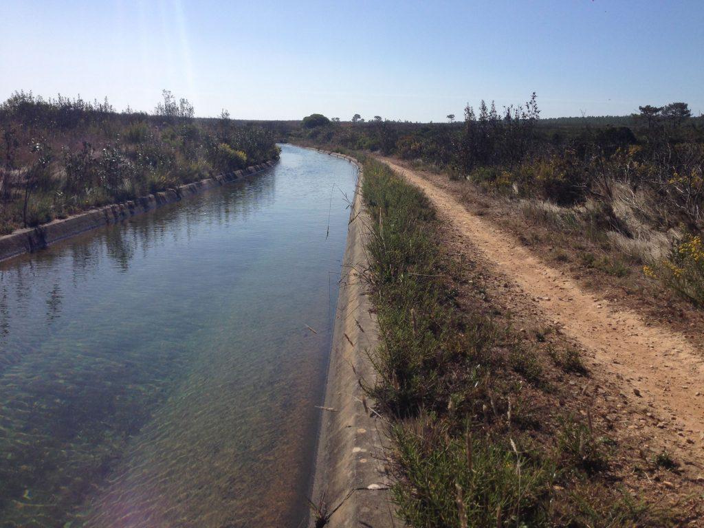 kanal Wanderweg Rota Vincentina