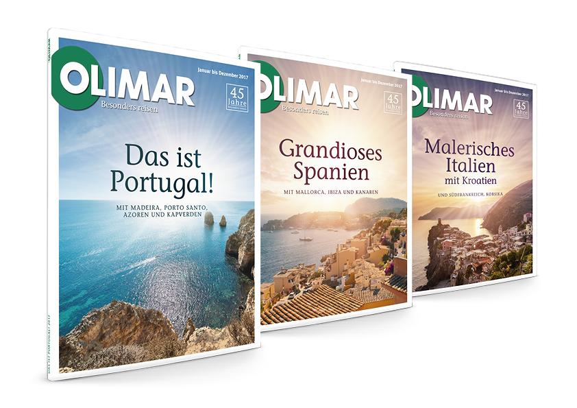 OLIMAR Reisekataloge 2017