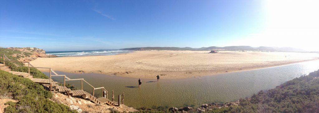 Panorama Weg Rota Vicentina zum Praia Bordeira