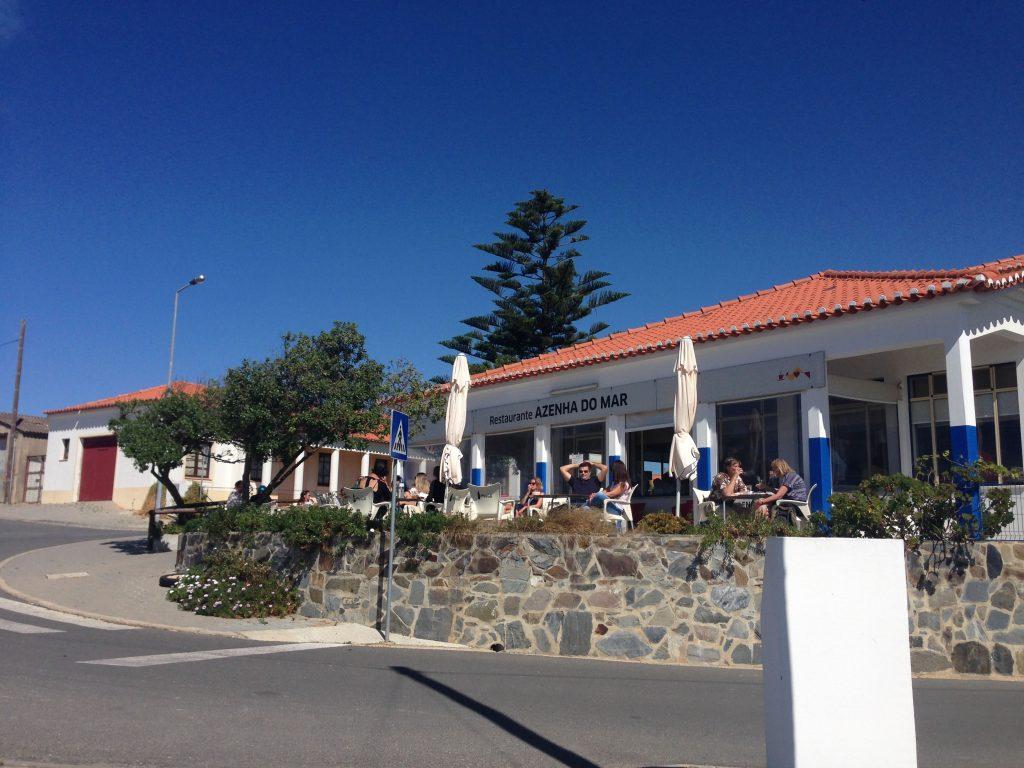 Restaurante Azenha do Mar an der Rota Vicentina