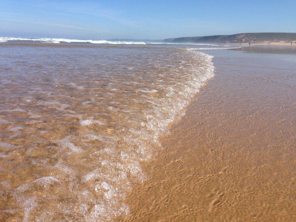 Wasser Praia Bordeira an der Rot Vicentina