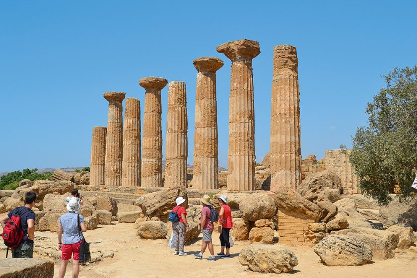 Sizilien Agrigent Tempelruine