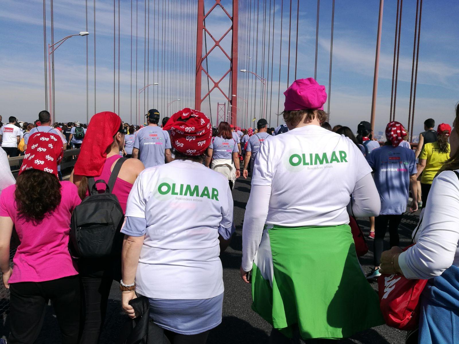 Lissabon Halbmarathon Brückenlauf