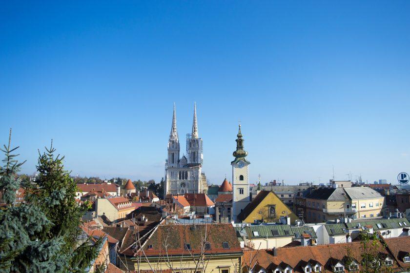 Zagreb Urlaub Stadt Tagesausflug