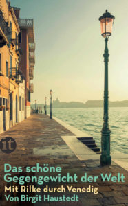 Buchtitel mit Rilke durch Venedig