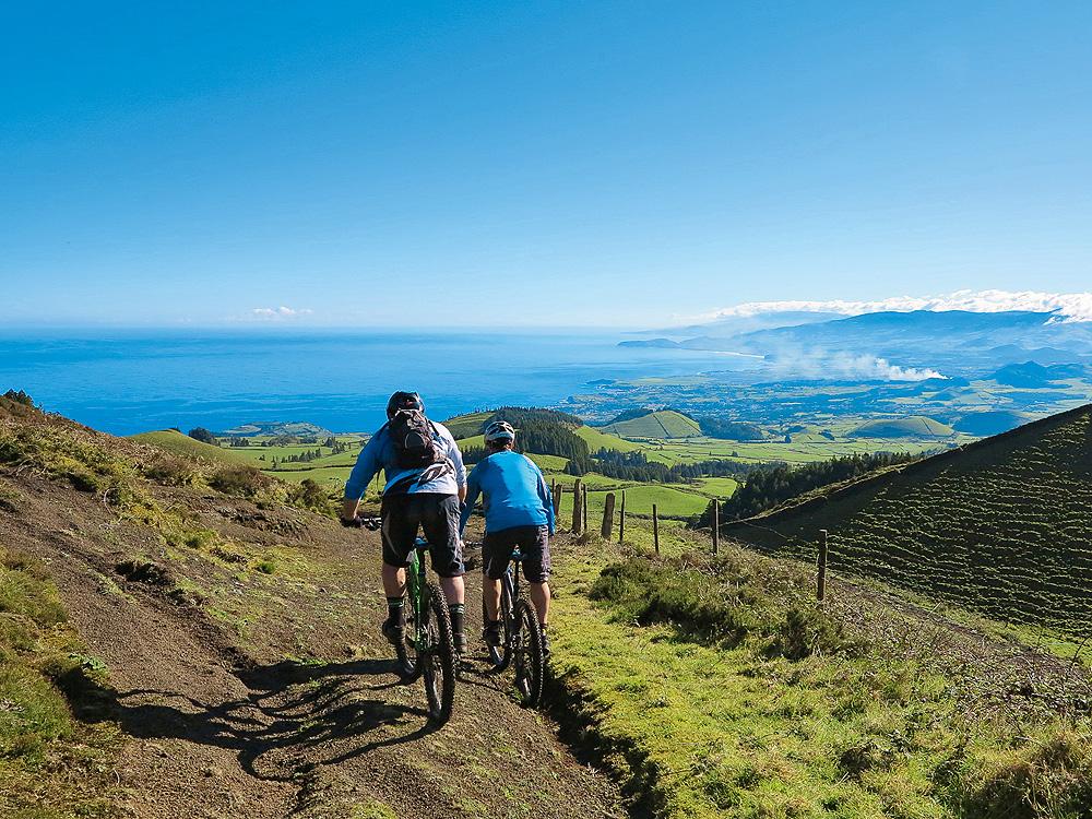 Biken auf den Azoren