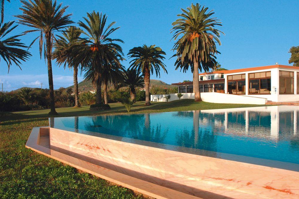 Pool und Garten Porto Santo Hotel