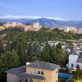 Blick auf Alhambra vom Albaicin Granada Urlaub