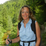 Sylvia F. auf Wandertour