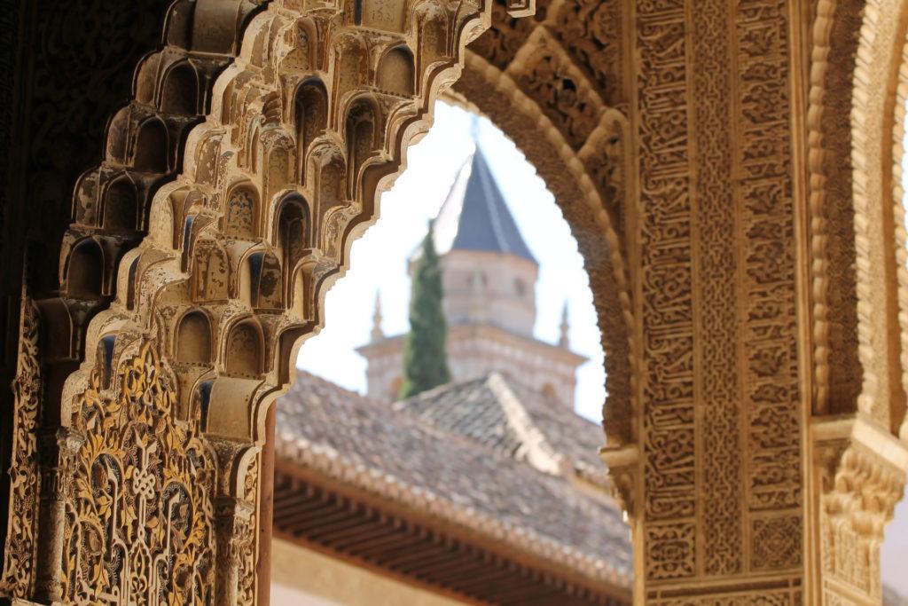 Verzierungen in Alhambra