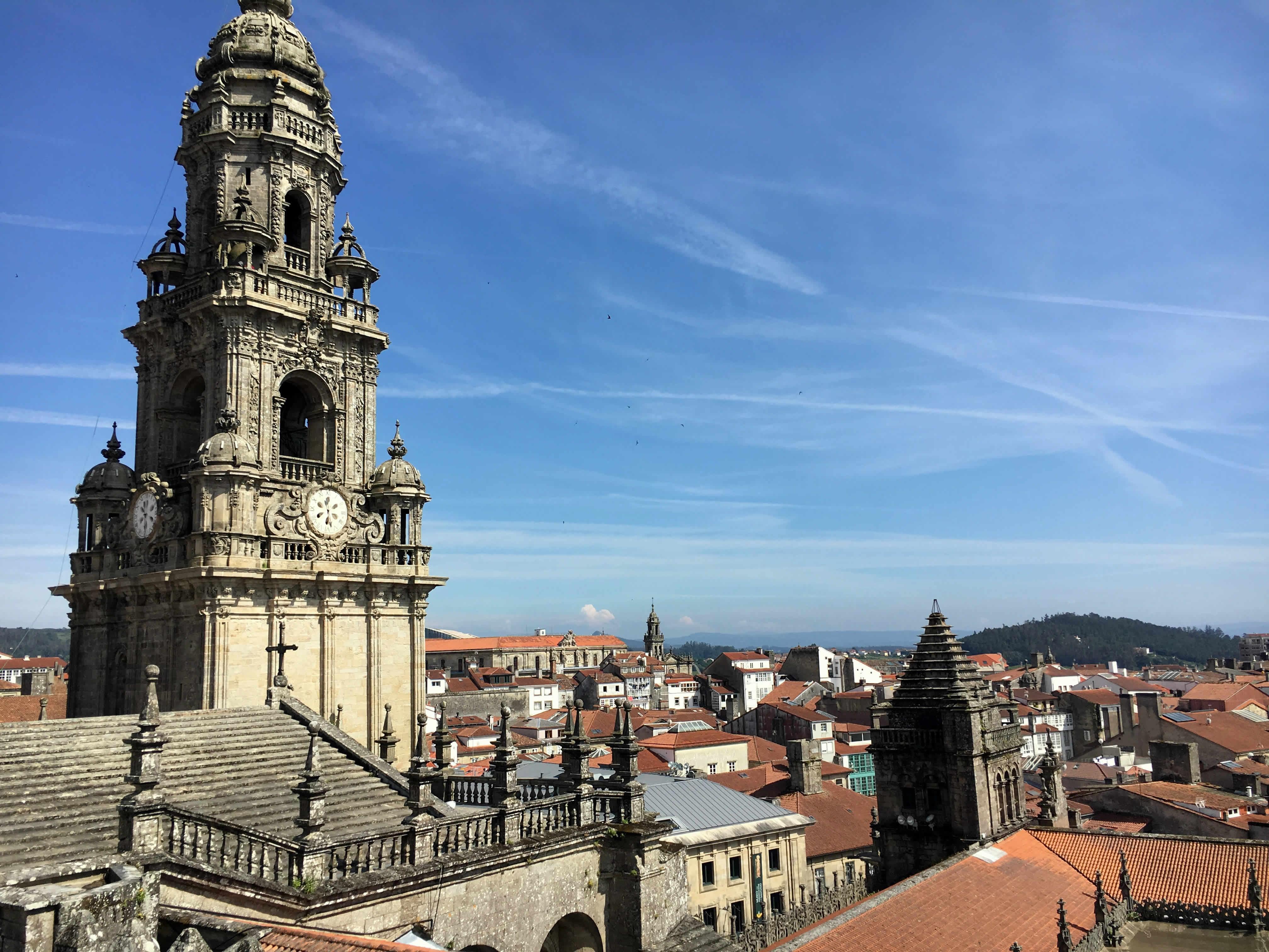 Santiago de Compostela Ausblick Kathedrale