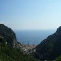 Tal der Mühlen - Ausblick beim Wandern an der Amalfiküste