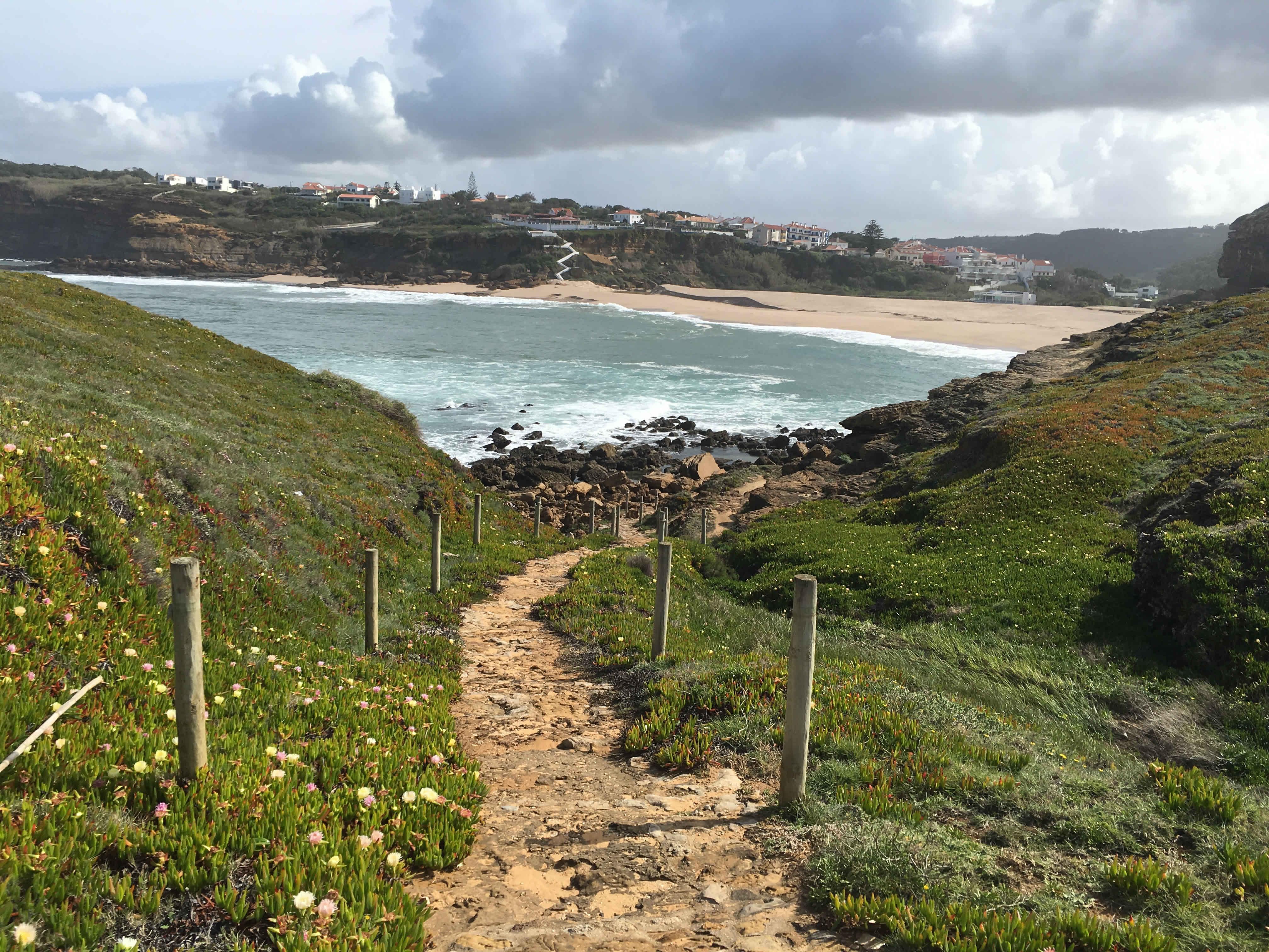 Von Ericeira nach Santa Cruz Jakobsweg Portugal