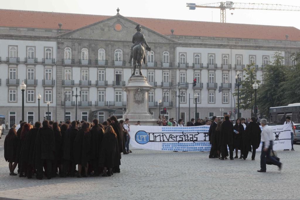 Studenten in Porto