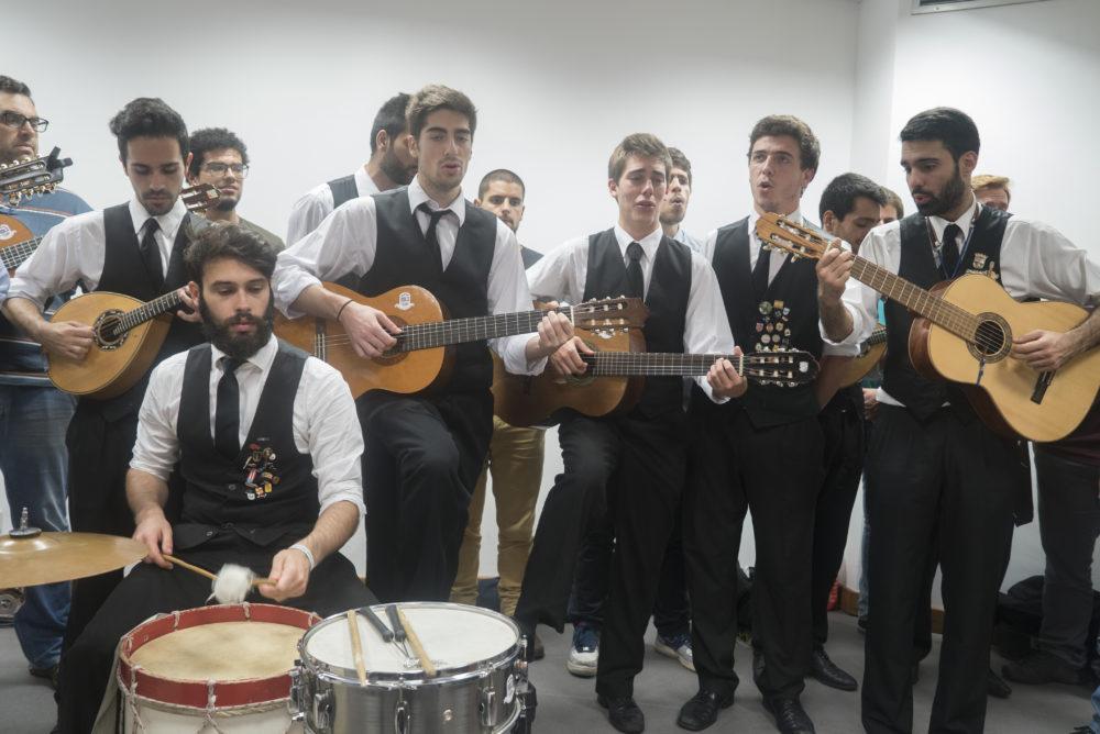 Tunna Musiker Studenten Porto