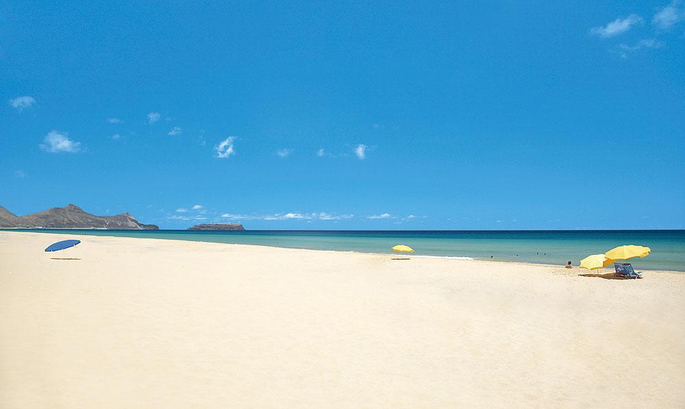 Strand von Porto Santo