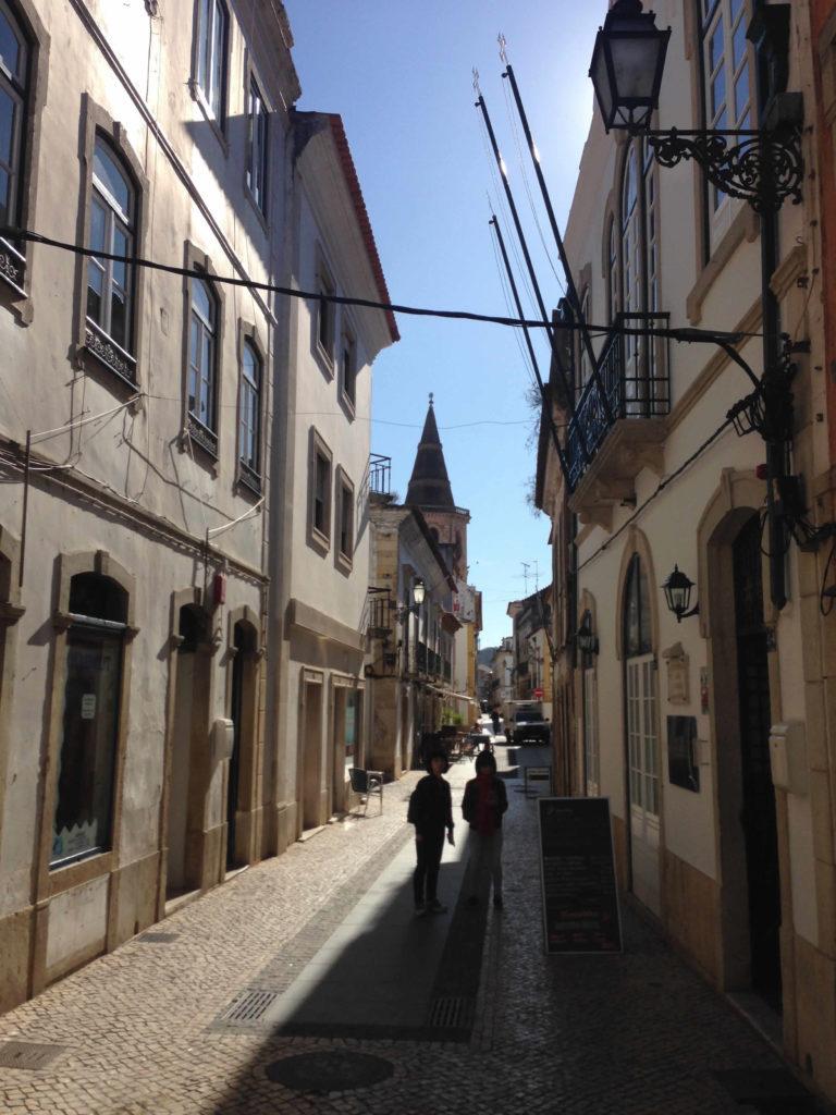 Fußgängerzone Altstadt Tomar