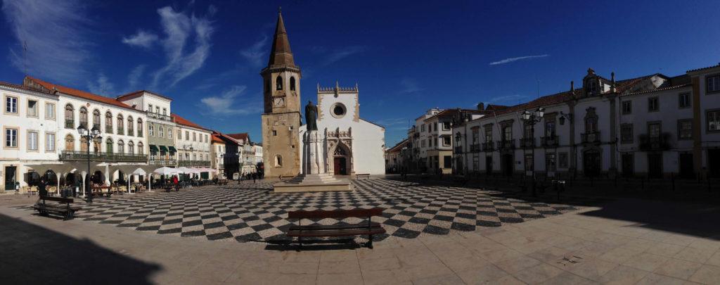 Rathausplatz in Tomar