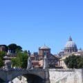 Petersdom und Ponte V Emanuele Rom