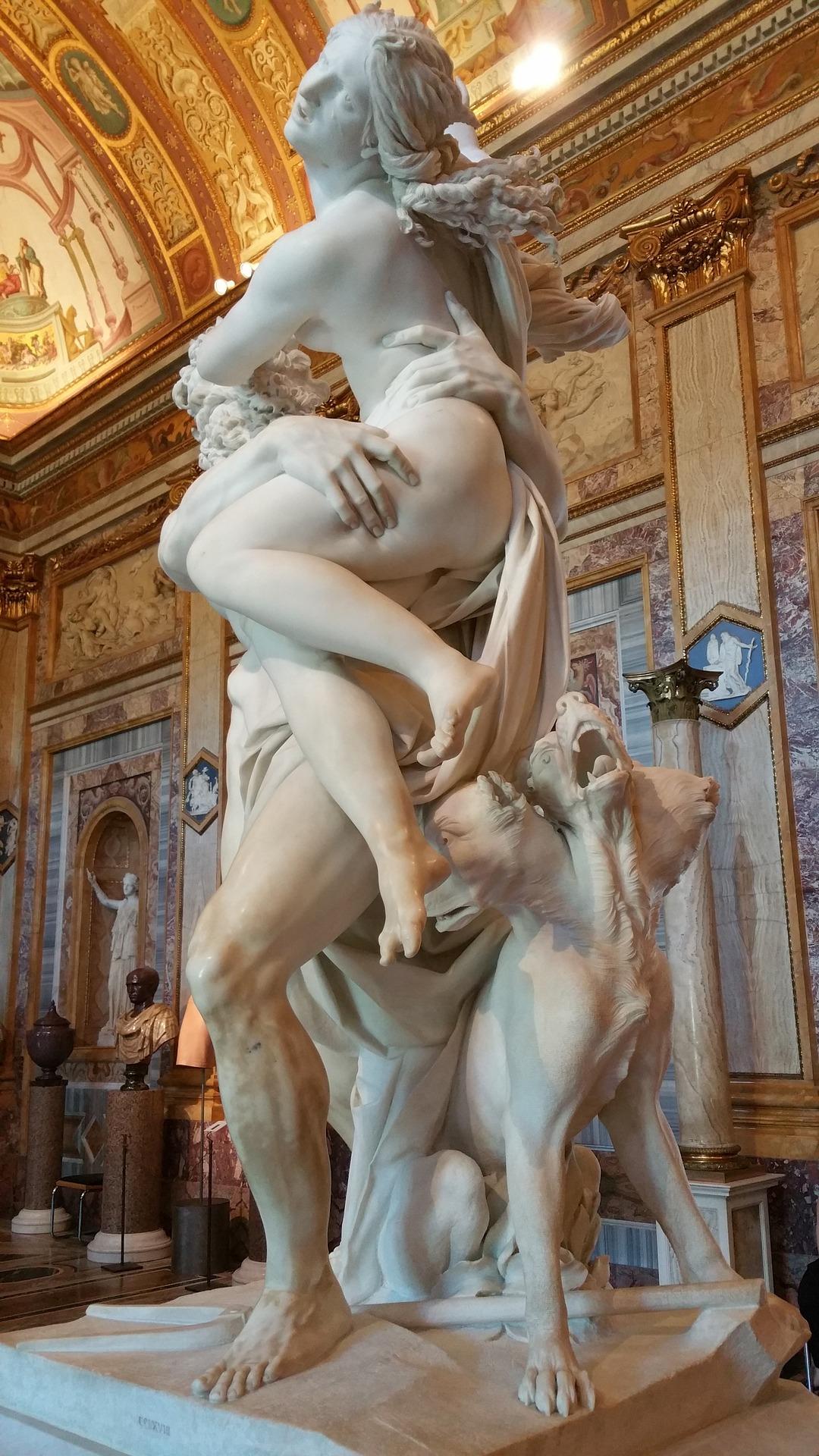 In Villa Borghese