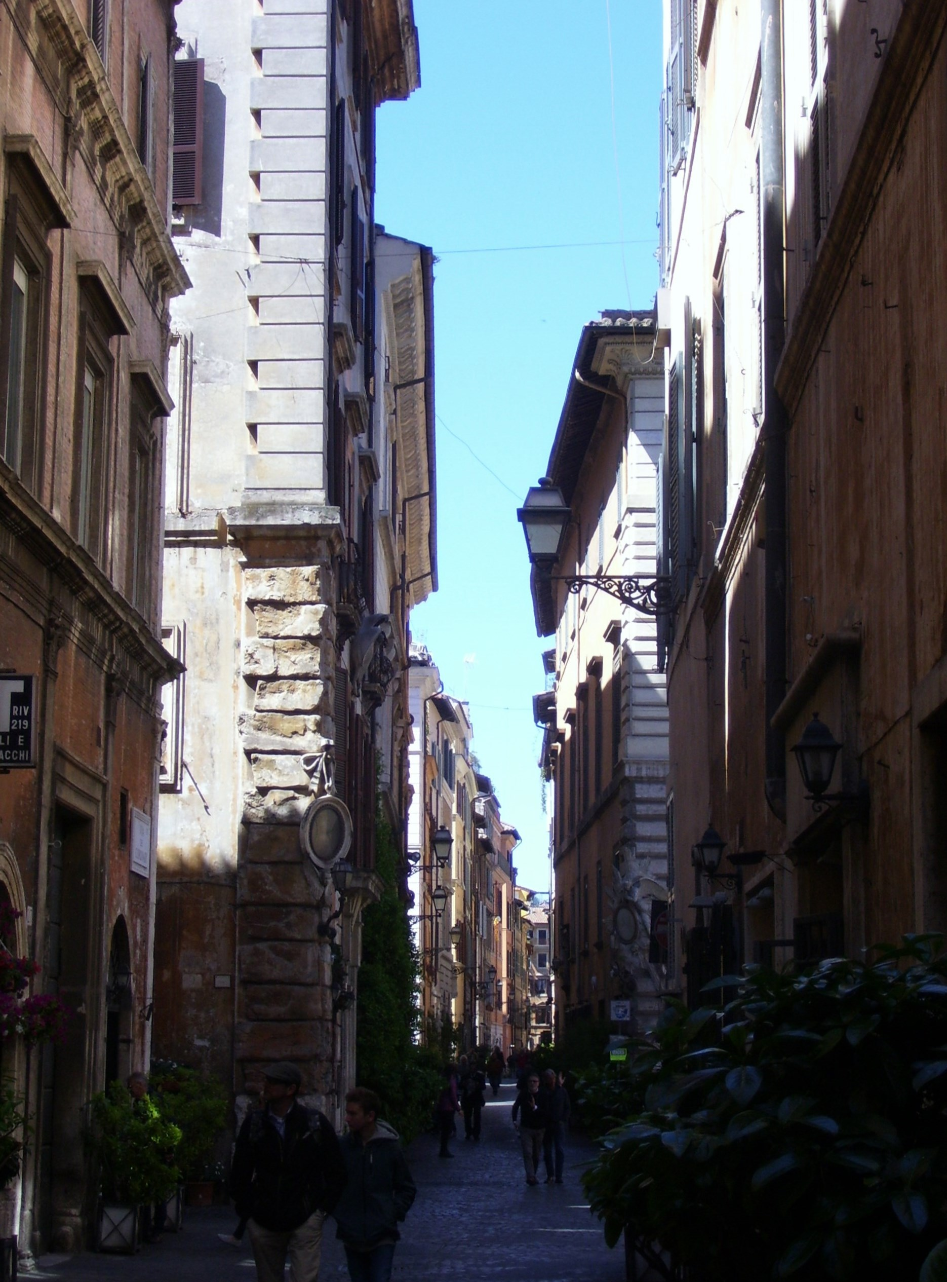 Gassen um Piazza Navona