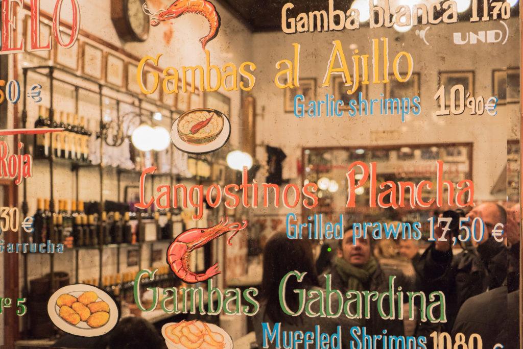 Restaurant Fisch Madrid El Abuelo