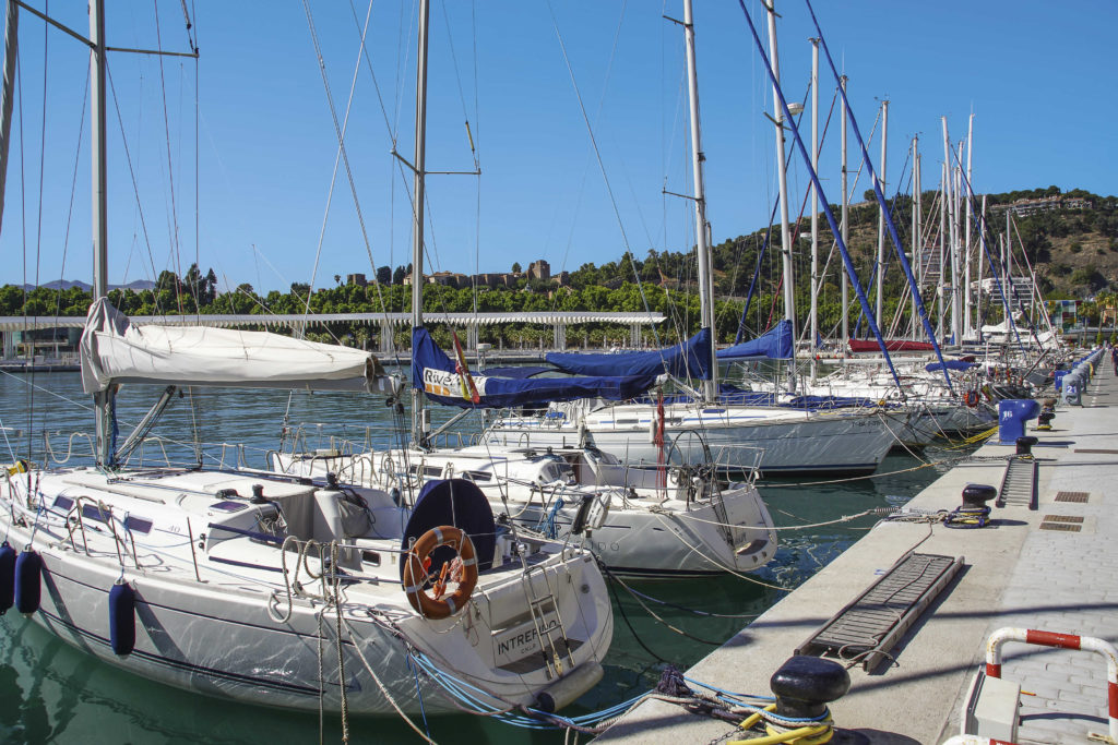 Hafenpromenade Málaga
