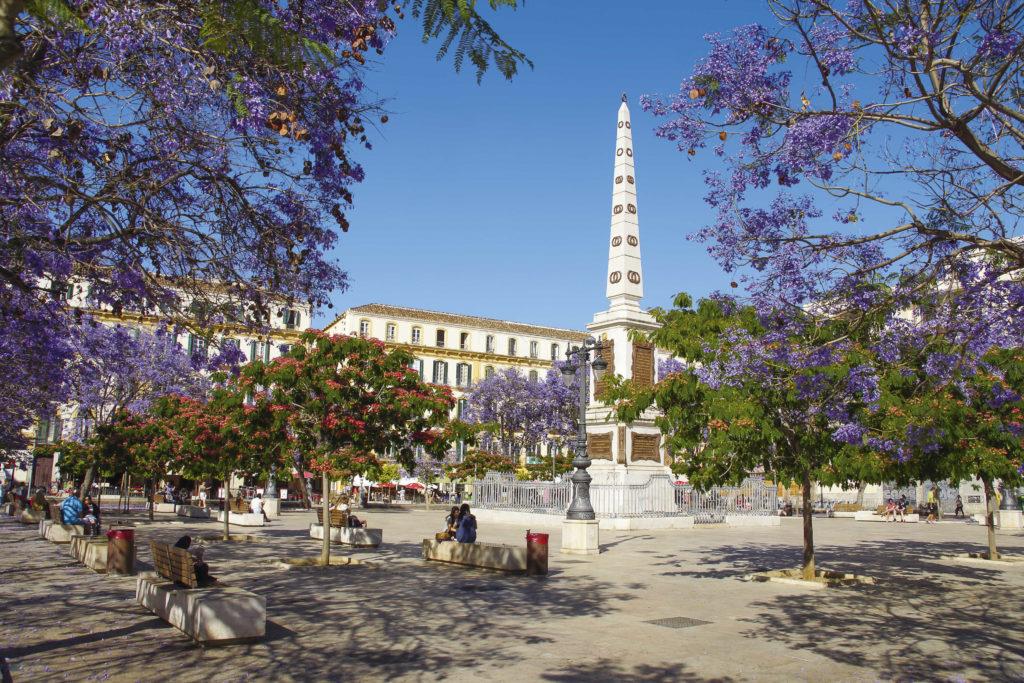 Málaga Plaza de la Merced