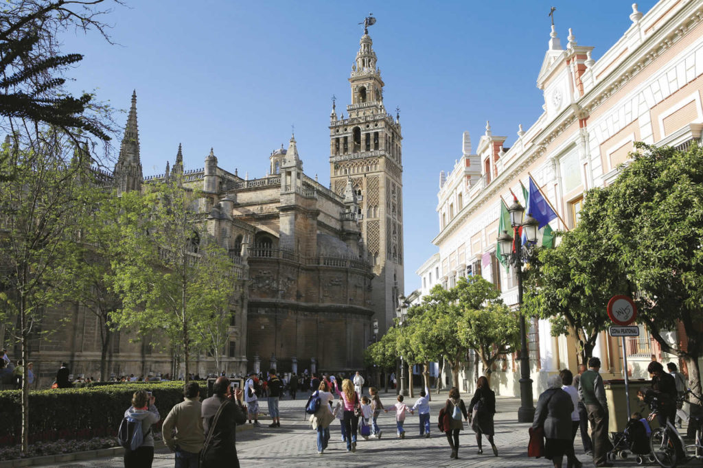 Glockenturm Giralda Sevilla