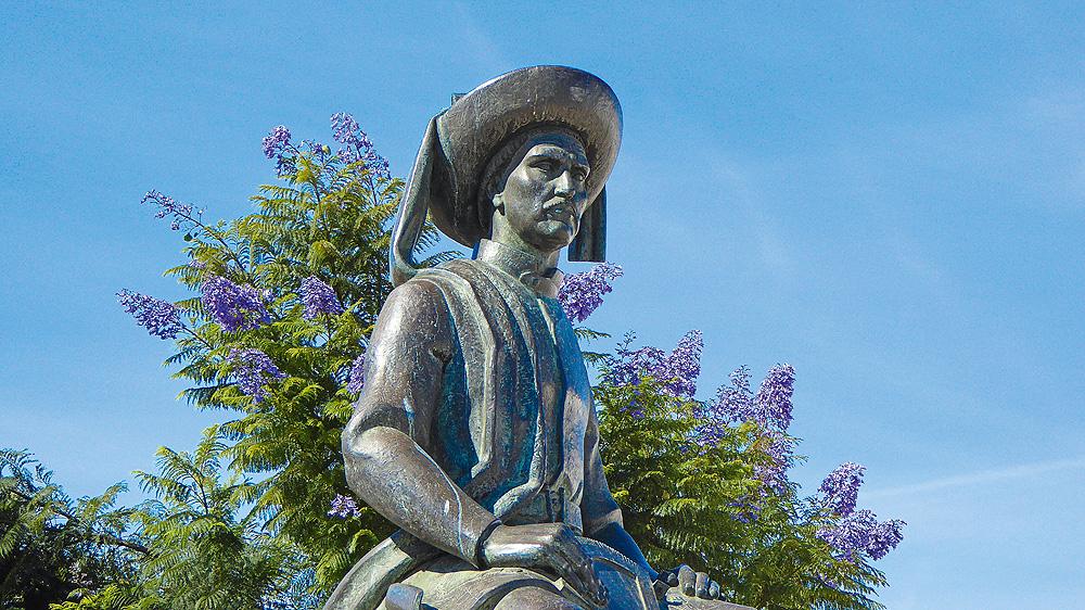 Seefahrerdenkmal in Lagos Algarve