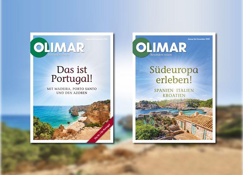 OLIMAR Reisekataloge 2019