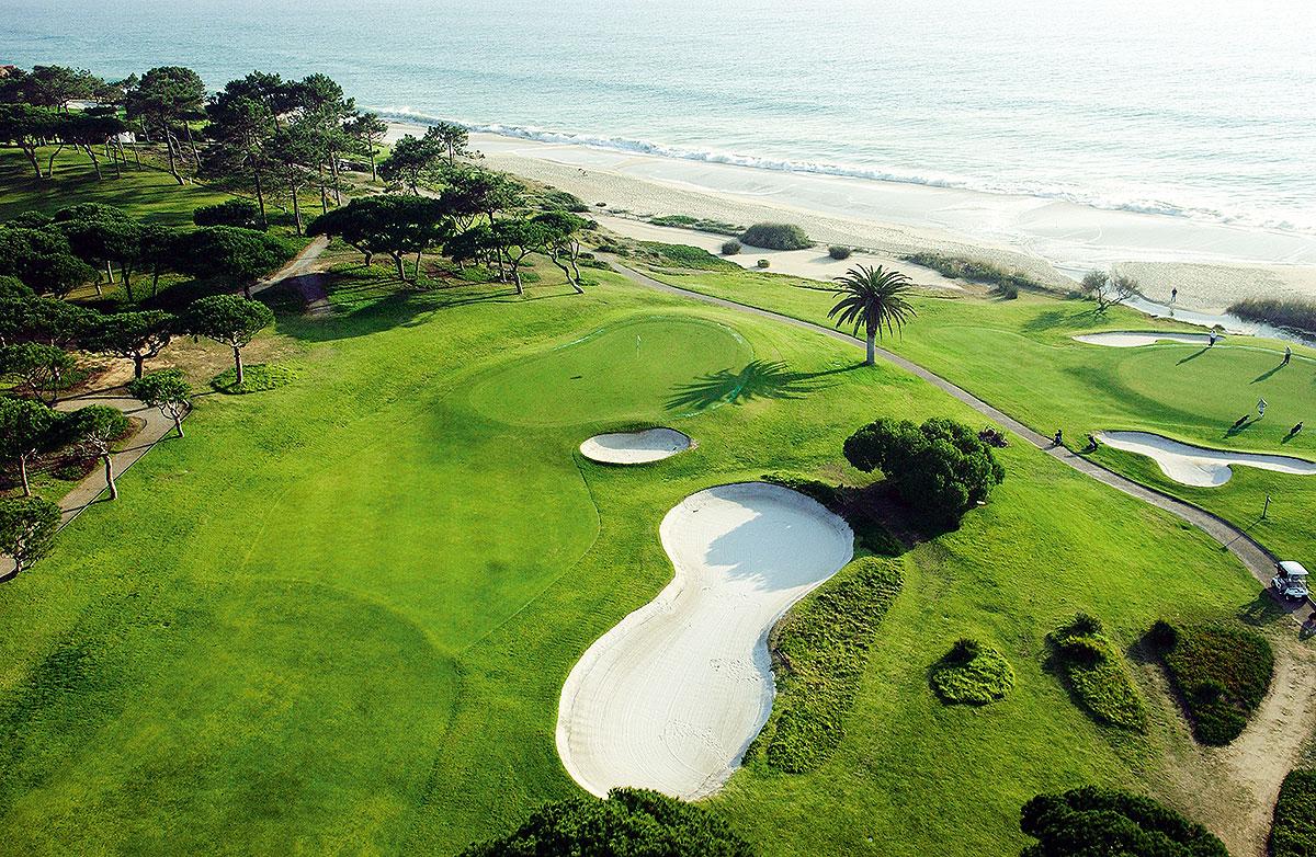 Luftbild Golfplatz Vale do Lobo Algarve