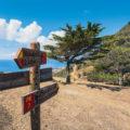 Wegweiser Wanderung auf Porto Santo