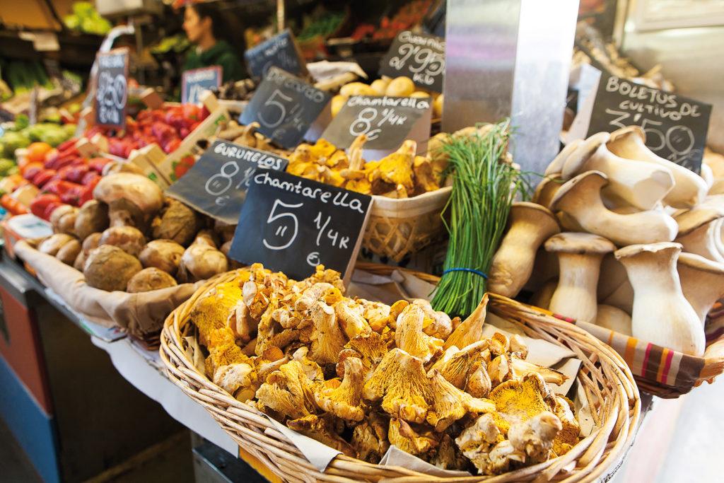 Markt in Spanien