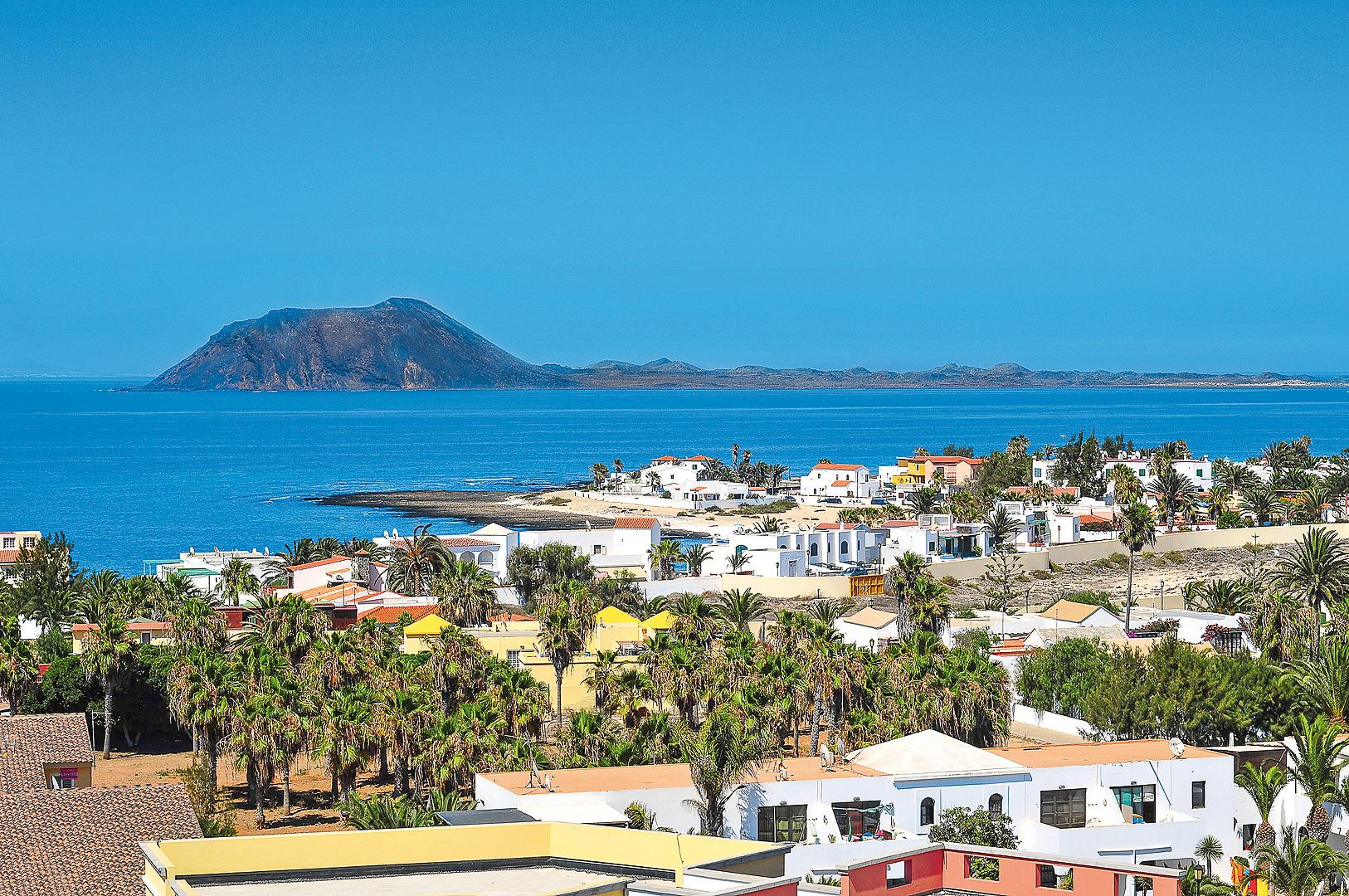 Ausblick auf Fuerteventura