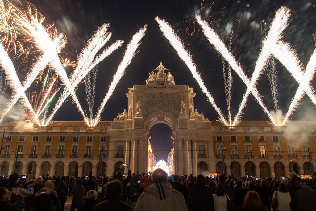 Silvester in Lissabon