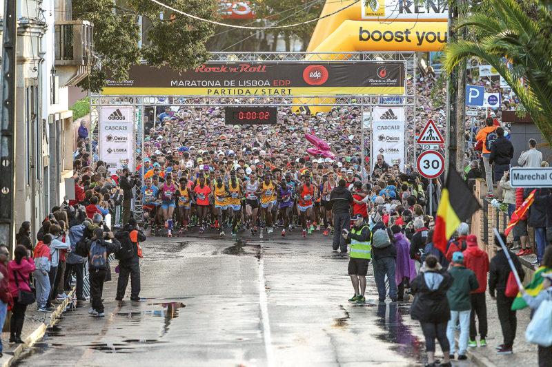 Start Lissabon Halbmarathon