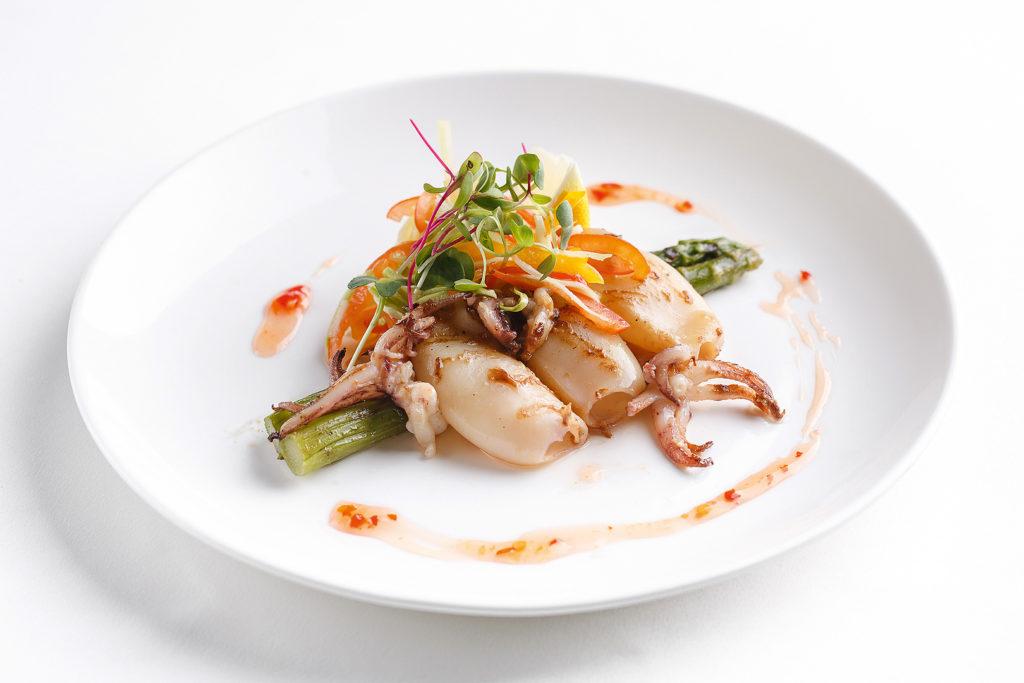 Meeresfrüchte Gericht