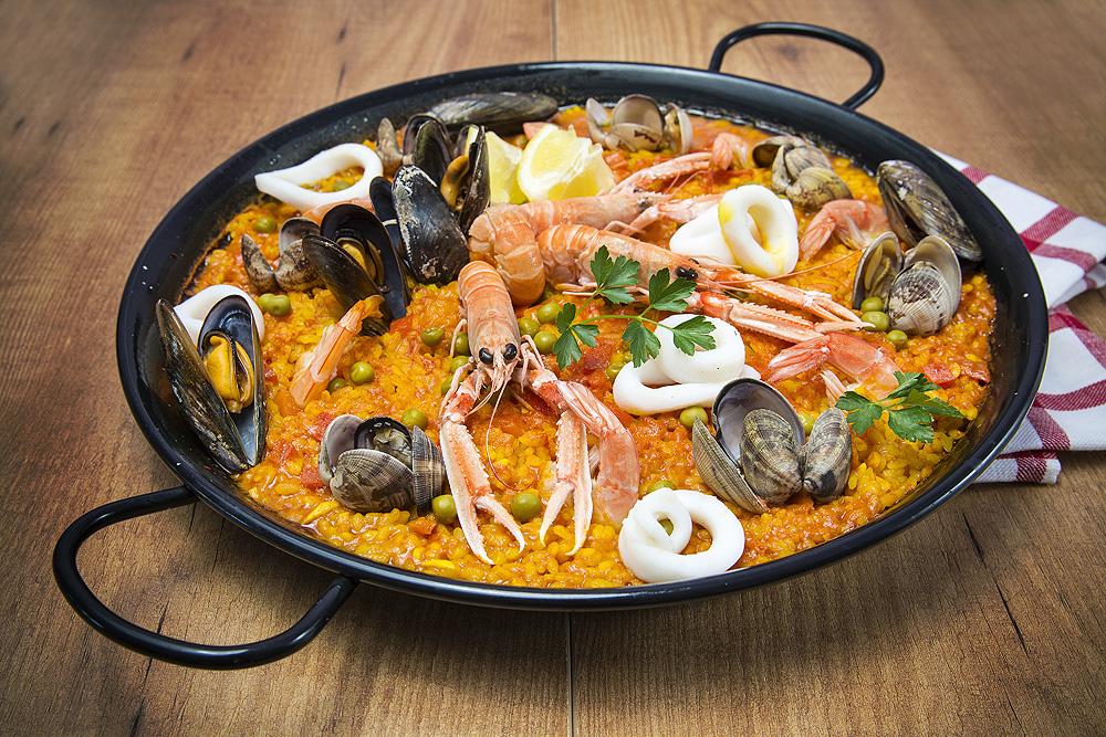Paella aus Valencia