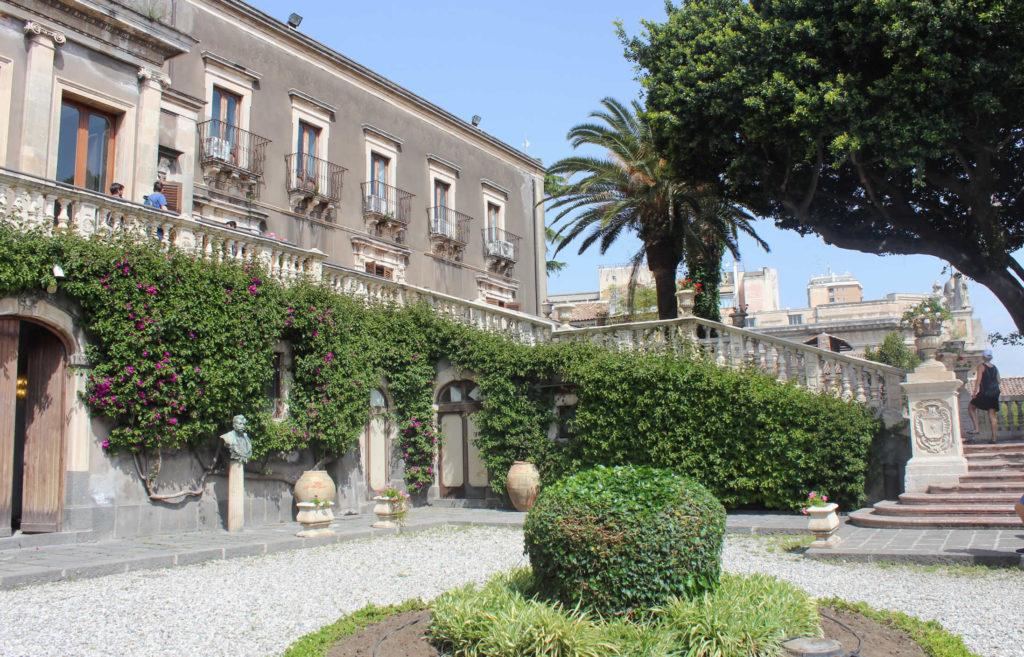 Villa Bellinin in Catania