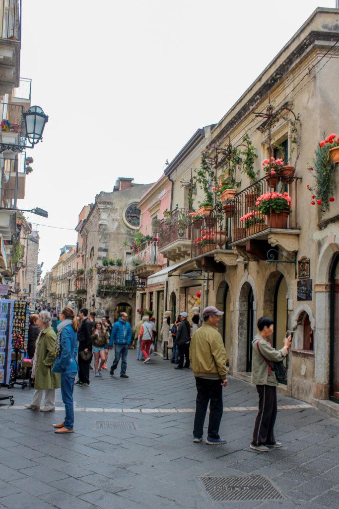 Corso Umberto in Taormina