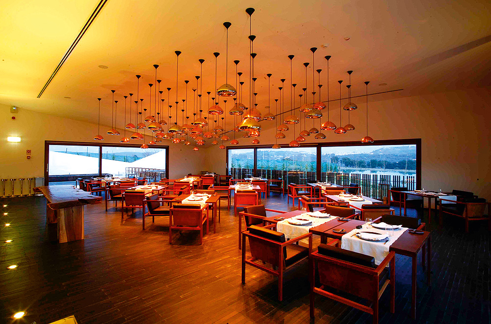 Restaurant im Hotel L'AND Vineyards